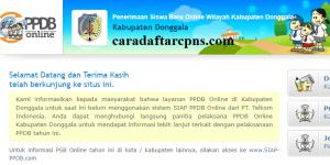 PPDB SMP Kabupaten Donggala