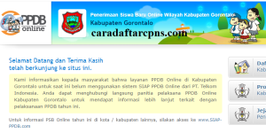 Jadwal PPDB SMA SMK Negeri Kab Gorontalo 2020 2021