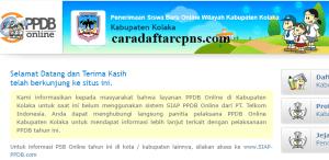 Jadwal PPDB SMA SMK Negeri Kab Kolaka 2020 2021