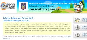 Jadwal PPDB SMA SMK Negeri Kab Lombok Tengah 2020 2021