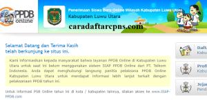 PPDB SMP Kabupaten Luwu Utara