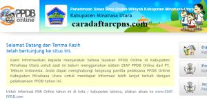 PPDB SMP Kabupaten Minahasa Utara