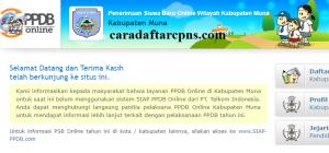 Jadwal PPDB SMA SMK Negeri Kab Muna 2020 2021