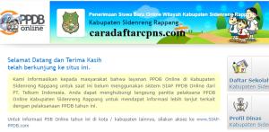PPDB SMP Kabupaten Sidenreng Rappang