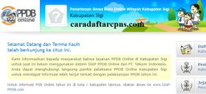 PPDB SMP Kabupaten Sigi