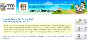 Jadwal PPDB SMA SMK Negeri Kab Wajo 2020 2021