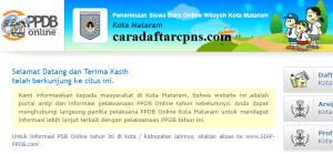 PPDB SMP Kota Mataram