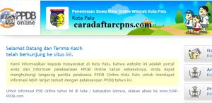 Jadwal Pendaftaran PPDB SMA 2020/2021 Kota Palu