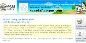 PPDB SMP Kabupaten Maluku Barat Daya