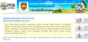 PPDB SMP Kabupaten Maluku Tengah