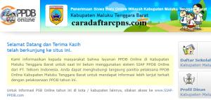 PPDB SMP Kabupaten Maluku Tenggara