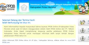 Jadwal PPDB SMA SMK Negeri Kab Morotai 2020 2021