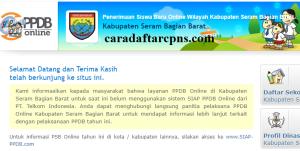 PPDB SMP Kabupaten Seram Barat