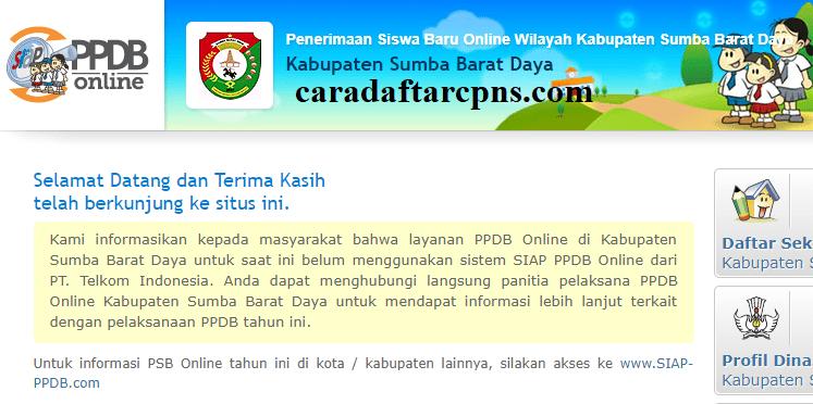 Pendaftaran Ppdb Online Sma Kabupaten Sumba Barat Daya 2019 2020