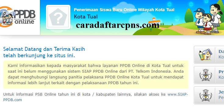 Pendaftaran Ppdb Online Sma Kota Tual 2019 2020 Jadwal Ppdb Smk