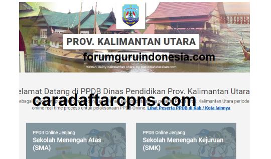 Jadwal Pendaftaran PPDB SMA SMK Negeri Provinsi Kalimantan Utara 2021