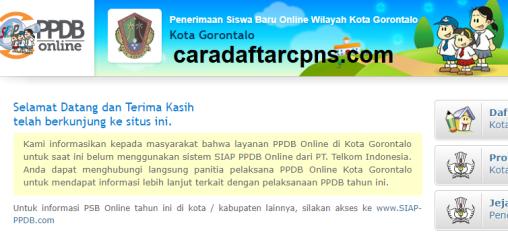 Jadwal Pendaftaran PPDB SMA SMK Negeri Provinsi Gorontalo 2021