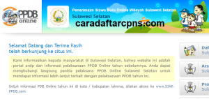 Pendaftaran PPDB Online SMA Provinsi Sulawesi Selatan 2019 2020