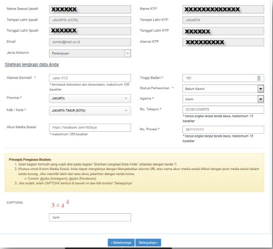 Cara Pendaftaran CPNS lengkap dengan gambar