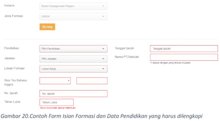 Cara mudah mendaftar CPNS online