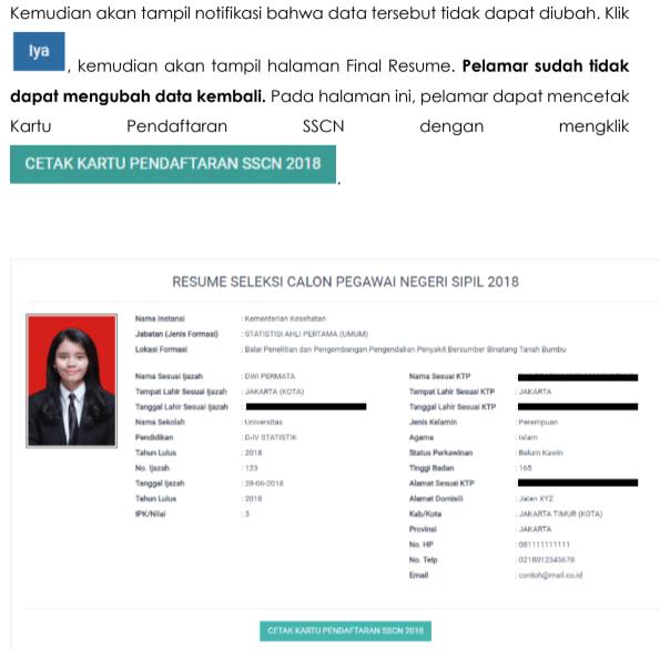 petunjuk daftar CPNS SSCN BKN GO ID