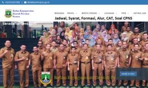 Jadwal Pendaftaran CPNS Pemprov Banten 2021 Lulusan SMA SMK D3 S1 S2