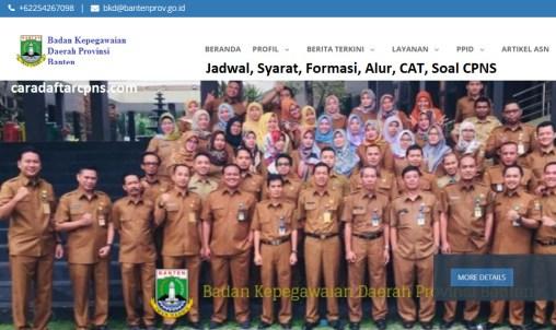 Hasil Seleksi Administrasi CPNS Pemprov Banten 2021
