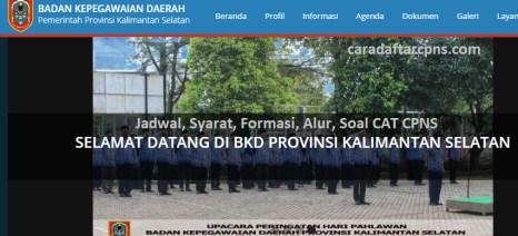 Hasil Seleksi Administrasi CPNS Pemprov Kalsel 2021
