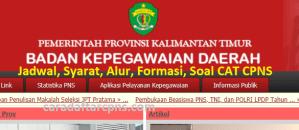 Pengumuman Hasil SKB CPNS Pemprov Kaltim Formasi 2019