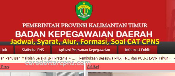 Hasil Seleksi Administrasi CPNS Pemprov Kaltim 2021