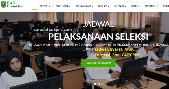 Hasil Seleksi Administrasi CPNS Pemprov Riau 2021