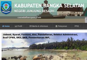 CPNS 2019 Kabupaten Bangka Selatan