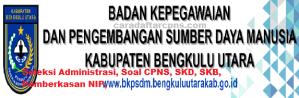 Pengumuman Hasil SKB CPNS Kabupaten Bengkulu Utara Formasi 2019