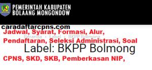 Pengumuman CPNS Kabupaten Bolaang Mongondow 2021 Lulusan SMA SMK D3 S1 S2
