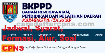 Jadwal Pendaftaran CPNS Kabupaten Cilacap 2021 Lulusan SMA ...