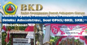 Pengumuman Hasil SKB CPNS Kabupaten Gianyar Formasi 2019