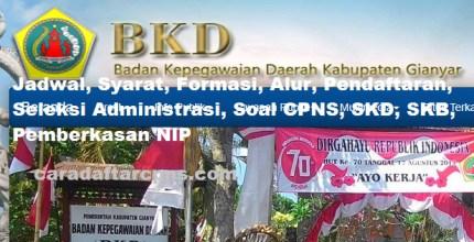 Jadwal Pendaftaran CPNS Kabupaten Gianyar 2021 Lulusan SMA SMK D3 S1 S2