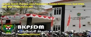 Pengumuman Hasil SKB CPNS Kabupaten Muara Enim Formasi 2019