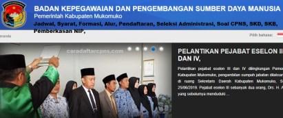 Pengumuman CPNS Kabupaten Mukomuko 2021 Lulusan SMA SMK D3 S1 S2