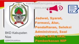 Jadwal SKB CPNS Kabupaten Nias 2019 2020