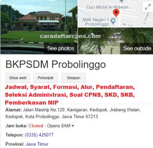 Jadwal Pendaftaran CPNS Kabupaten Probolinggo 2021 Lulusan SMA SMK D3 S1 S2