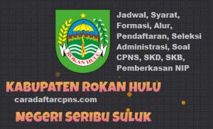 Jadwal SKB CPNS Kabupaten Rohil 2019 2020