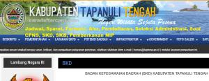 Pengumuman Hasil SKB CPNS Kabupaten Tapanuli Tengah Formasi 2019