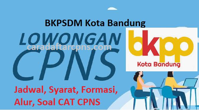Pengumuman Hasil SKD CPNS PEMKOT BANDUNG 2021