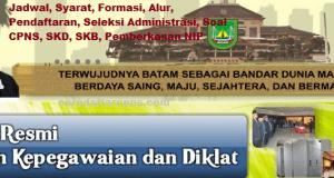 Pengumuman Hasil SKB CPNS Pemkot Batam Formasi 2019