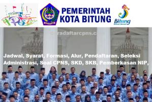 Jadwal Pendaftaran CPNS Kota Bitung 2021 Lulusan SMA SMK D3 S1 S2