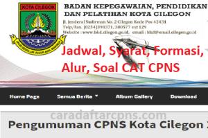 Pengumuman Hasil SKB CPNS Pemkot Cilegon Formasi 2019