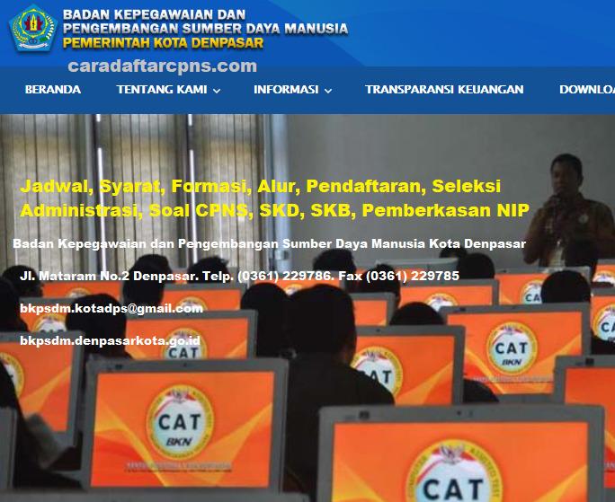 Hasil Seleksi Administrasi CPNS Pemkot Denpasar 2021