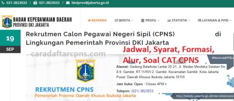 Pengumuman Hasil SKD CPNS PEMKOT JAKARTA 2021