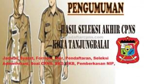 Jadwal Pendaftaran CPNS Kota Tanjungbalai 2021 Lulusan SMA SMK D3 S1 S2